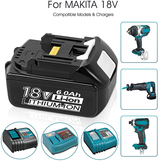 Makita 18V Replacement Upgrade Battery