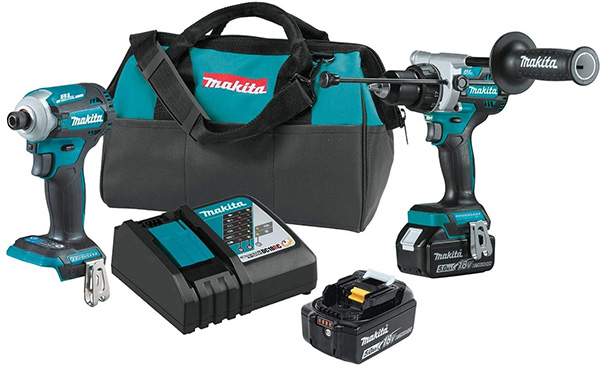 Makita 18V XT288T Hammer Drill and Impact Driver Combo Kit
