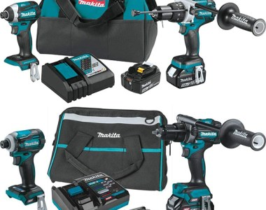 Makita 18V XT288T vs 40V Max XGT Cordless Hammer Drill and Impact Driver Combo Kit Comparison