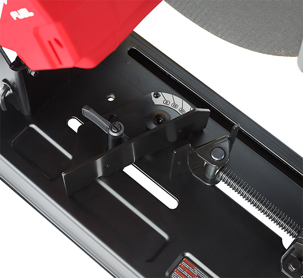 Milwaukee M18 Fuel Cordless Abrasive Saw Material Clamp