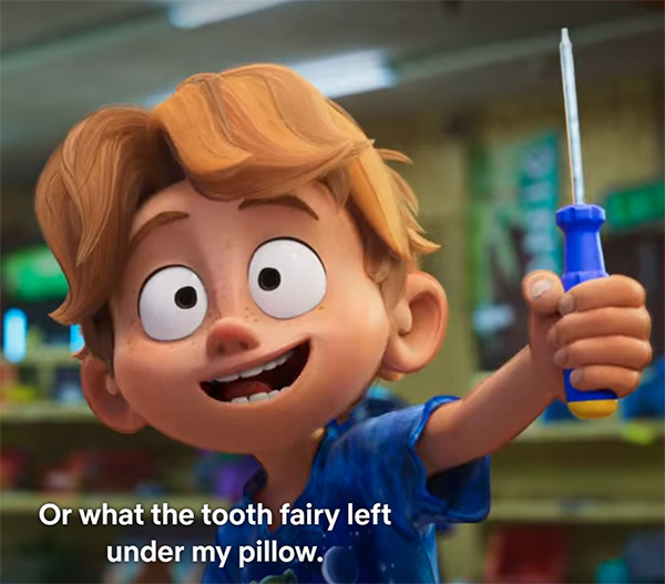 The Mitchells vs the Machines Tooth Fairy