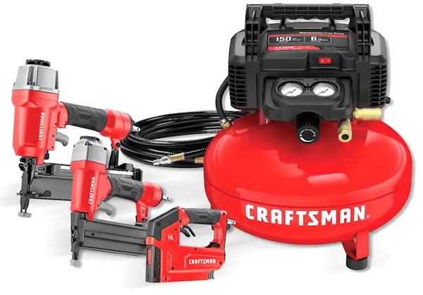 Craftsman CMEC3KIT Air Compressor and Nailer Kit