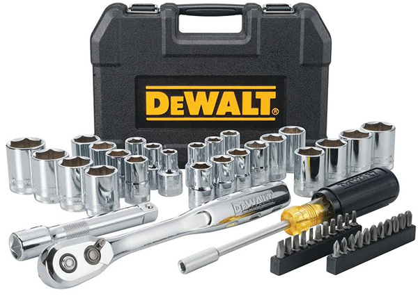 Dewalt 49pc Mechanics Tool Set