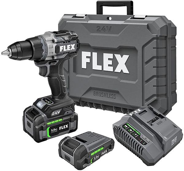 Flex 24V Brushless Drill Kit