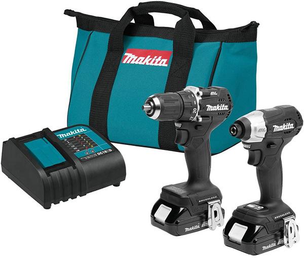 Makita CX203SYB Sub-Compact Cordless Drill and Impact Driver Combo Kit