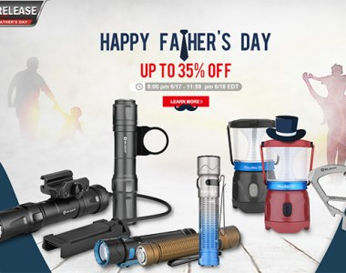 Olight Fathers Day Flash Sale 2021 Banner