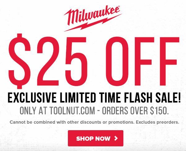 Prime Day 2021 Milwaukee Tool Flash Sale Tool Nut