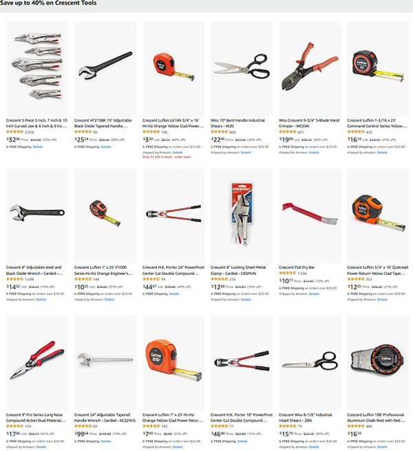 Save on Crescent Tools Fathers Day 2021