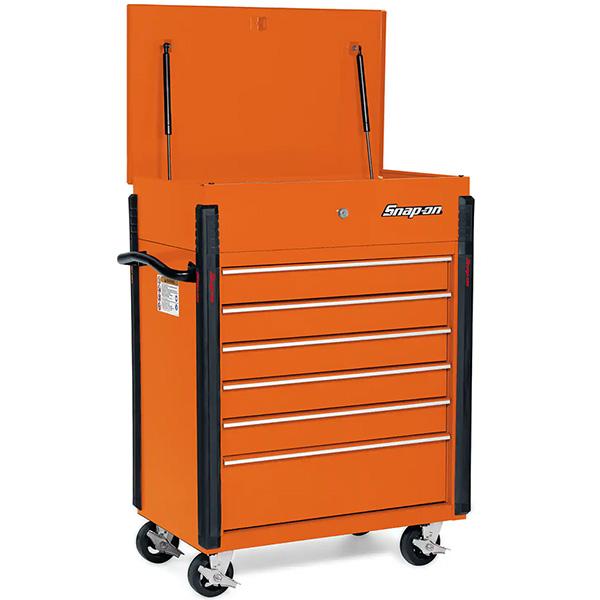 Snap-on KRSC326 Tool Cart in Orange