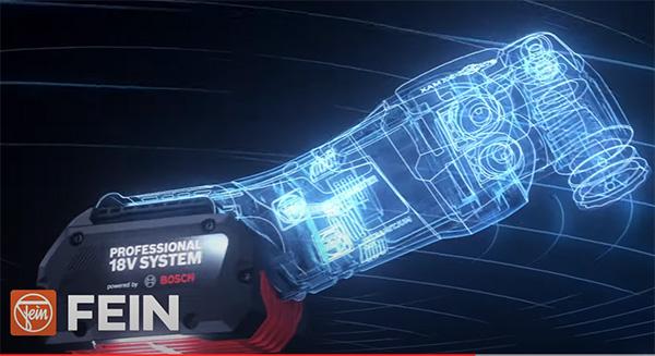 Bosch Fein 18V Cordless Starlock Multi-Tool Screenshot