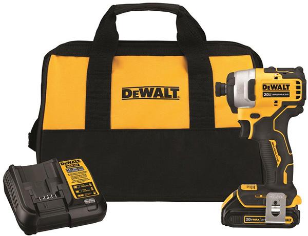 Dewalt Atomic Series Cordless Impact Driver Kit DCF809C1