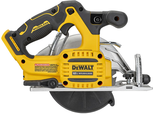 Dewalt DCS512B 12V Xtreme Circular Saw Rear Side