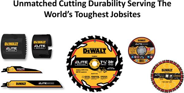 Dewalt Elite Series Construction Blades