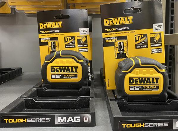 Dewalt ToughSeries Green Packaging