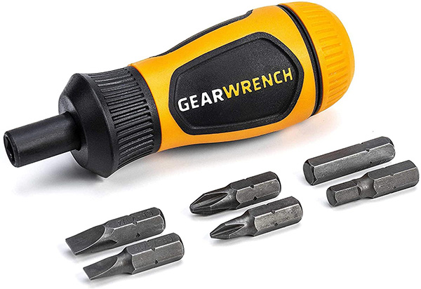 Gearwrench Stubby Ratcheting Screwdriver