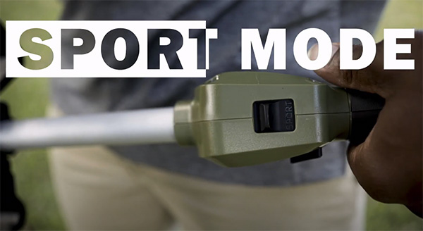 Green Machine Cordless String Trimmer Sport Mode