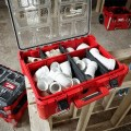 Milwaukee Packout 48-22-8432 Deep Organizer Holding PVC Pipe Fittings