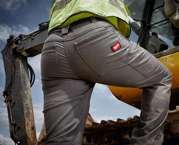 Milwaukee Work Pants Climbing View