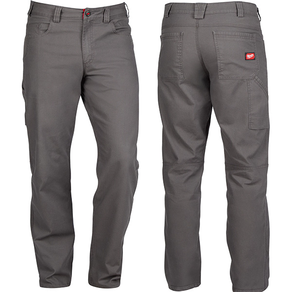 Milwaukee Work Pants Front and Back