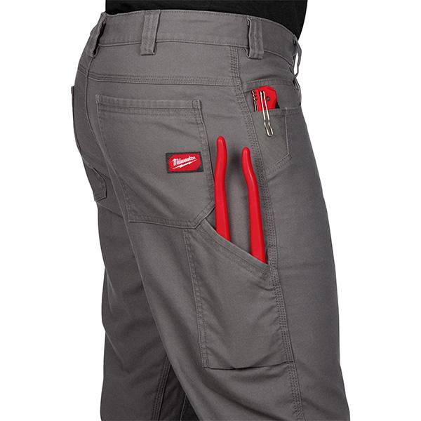 Milwaukee Work Pants in Grey