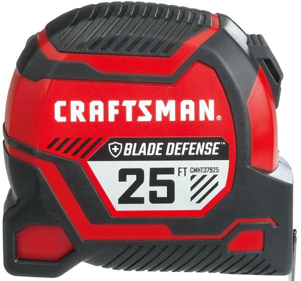 Craftsman Pro Reach Plus Blade Defense Tape Measure 25-Foot