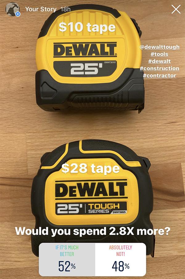 Dewalt Tough Series Tape Measure Reader Poll