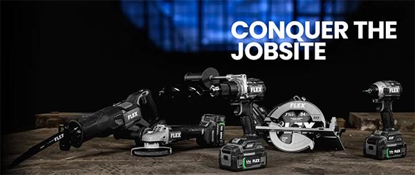 Flex Tools Conquer the Jobsite
