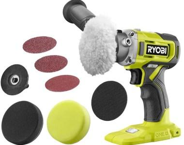 Ryobi 18V Cordless Polisher Sander Kit PBF102B