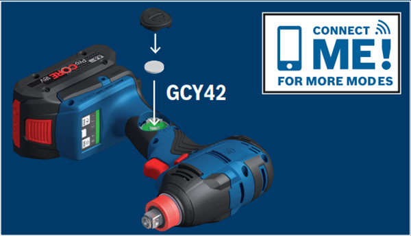 Bosch GDX18V-1860 18V Freak Impact Driver Bluetooth Module
