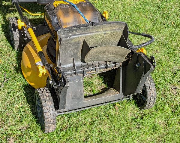 Dewalt 2x20V Push Mower Rear Door and Plug