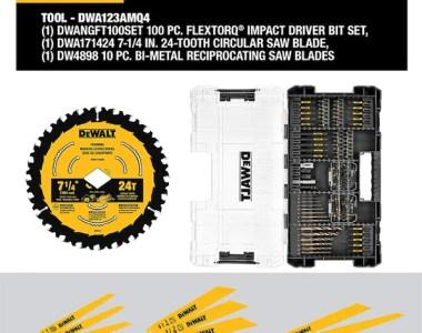 Dewalt Master Power Tool Accessory Set