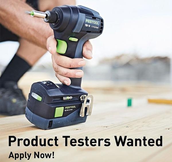 Festool Cordless Impact Driver Kit Tester Program