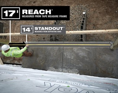 Tape Measure Reach vs Standout by Milwaukee Tool