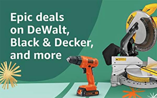 Amazon Epic Deals Dewalt Tools 10-2021