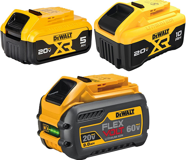 Dewalt 20V Max vs FlexVolt Battery Comparison 2021