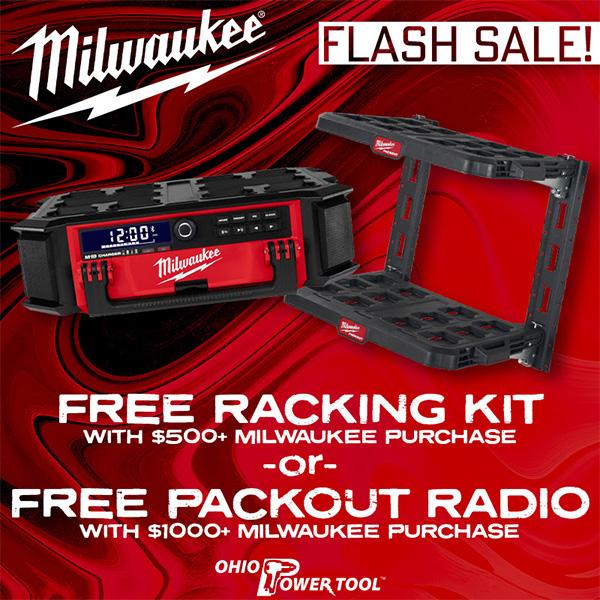 Ohio Power Tool Milwaukee Tool Flash Sale 10-14-2021
