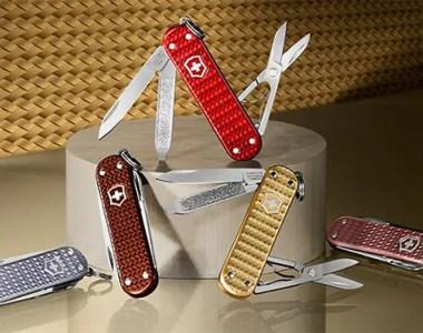 Victorinox Classic Precious Alox Swiss Army Knife Collection 2021