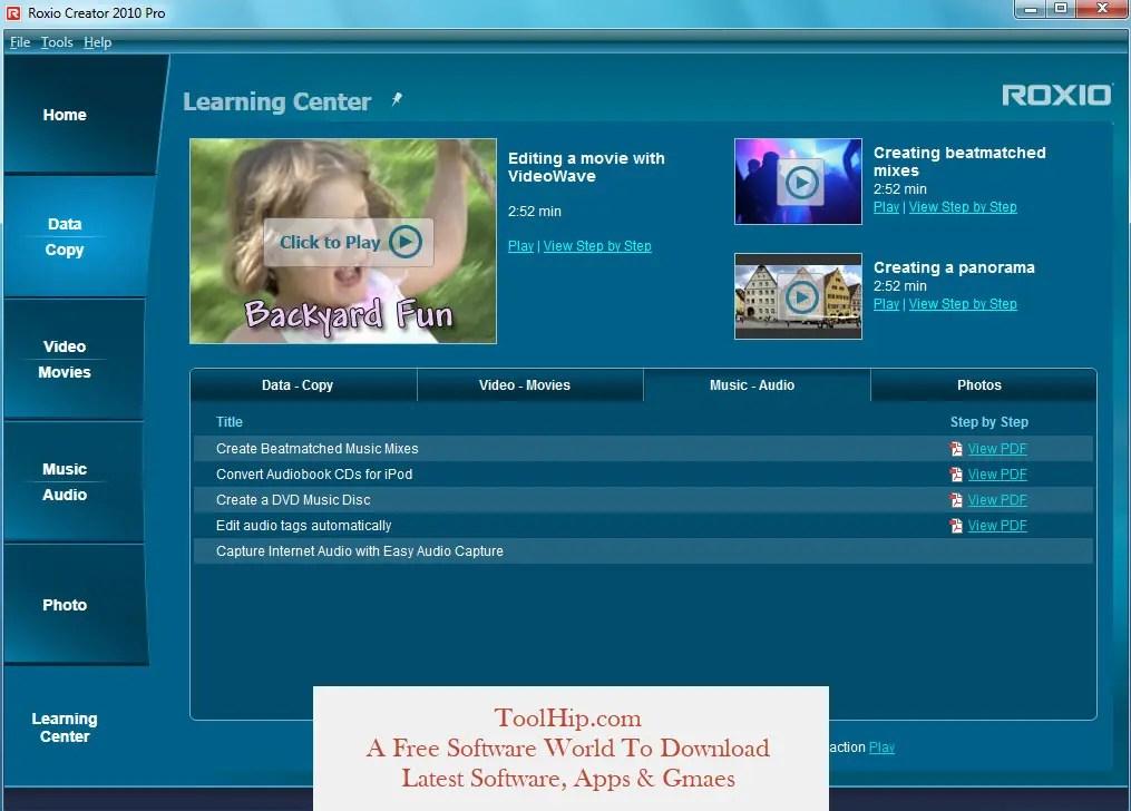Roxio Easy Media Creator (2020 Latest) Free Download for Windows