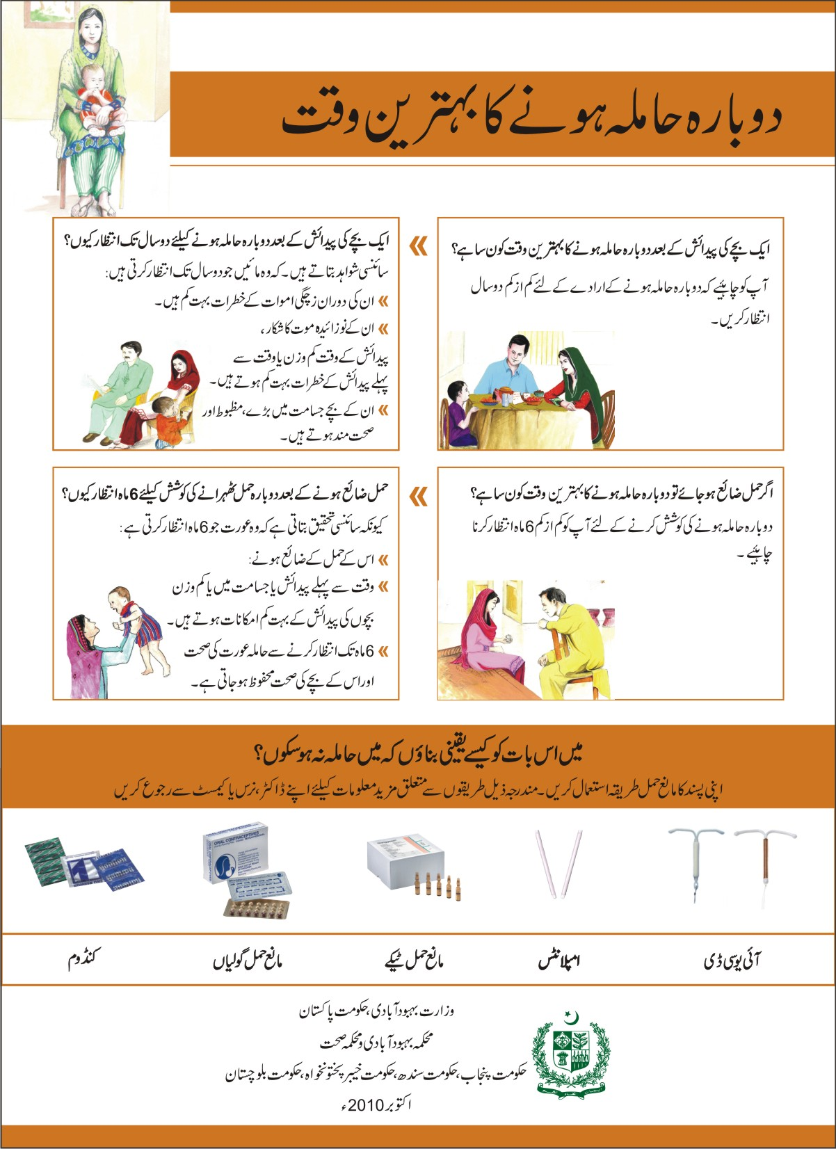 How To Get Pregnant With A Boy In Urdu : pregnant, Thinking, About, Getting, Pregnant, Again?, Time?, (poster), Toolkits