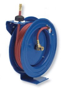Finds: Retractable Pneumatic Hose Reel | Toolmonger