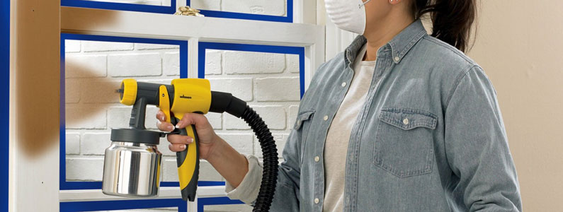 wagner paint sprayer leaking