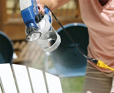 graco spraying water instead of paint