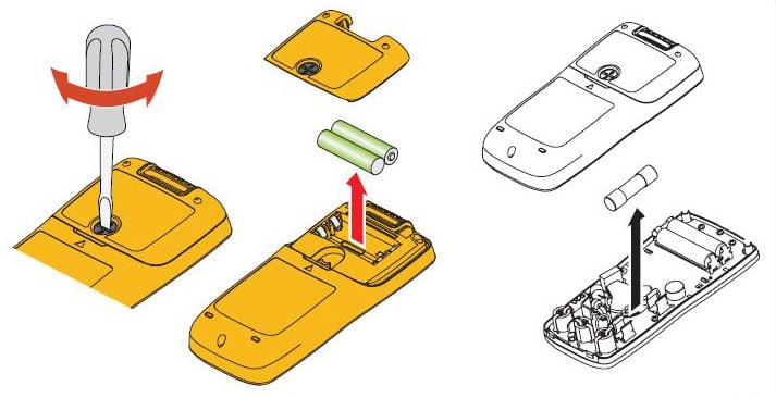 fluke-101-battery-change