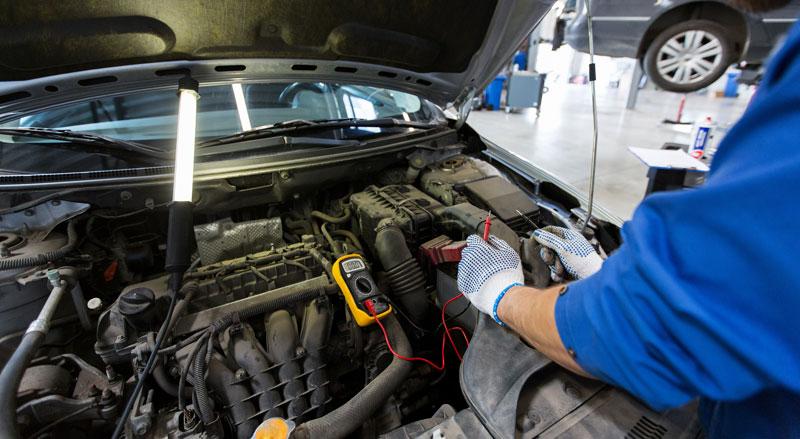 Multimeter Car Battery Test