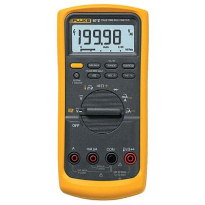 Fluke 87-V Multimeter Review