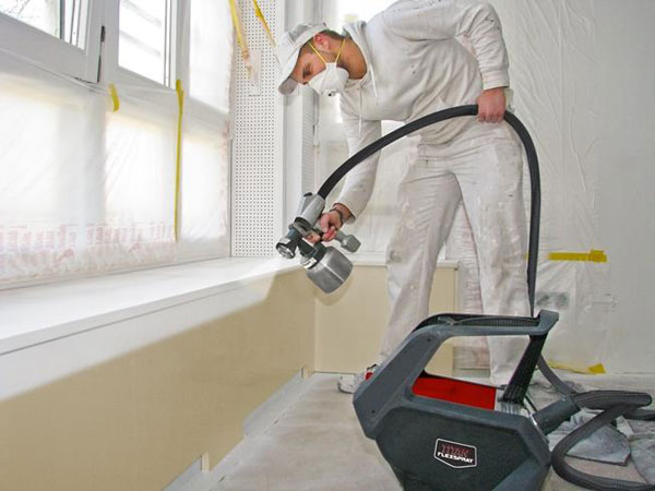 titan paint spraying