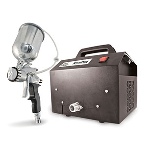 Earlex-Spray-Port-6003-with-Gravity-Feed-PRO-8-Gun-Stationary-HVLP-Paint-Sprayer
