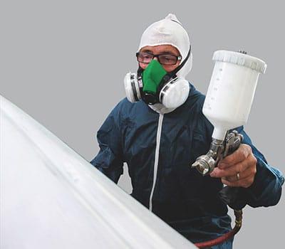 spraying mask