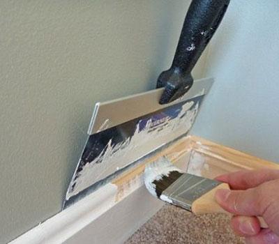 using paint shield