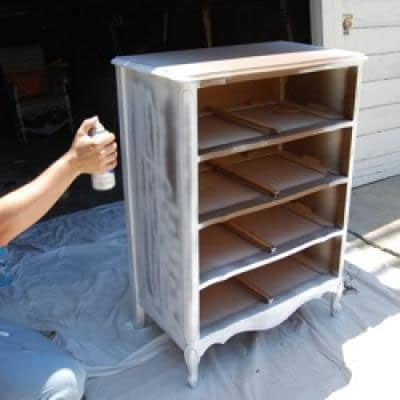 wooden furniture painting